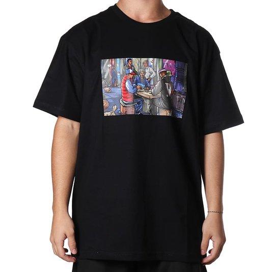 Camiseta Dgk Our Block Preto