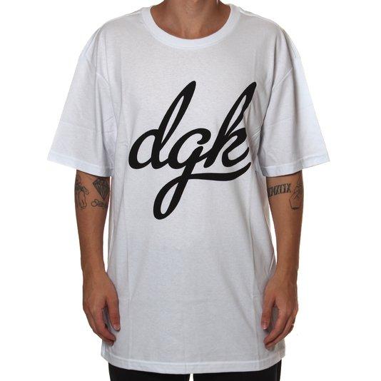 Camiseta DGK Script Branco