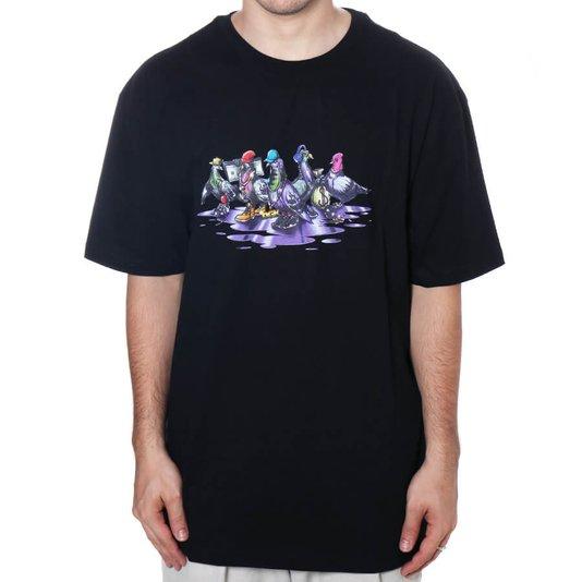Camiseta Dgk The Coop Preto