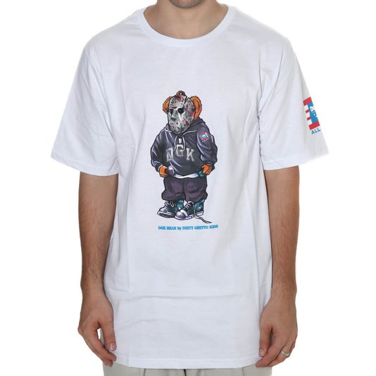 Camiseta Dgk The Plug Branco