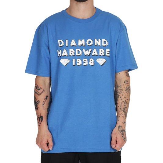 Camiseta Diamond Hardware 98 Azul Royal