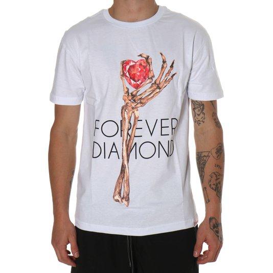 Camiseta Diamond Heart Of Tee Branco