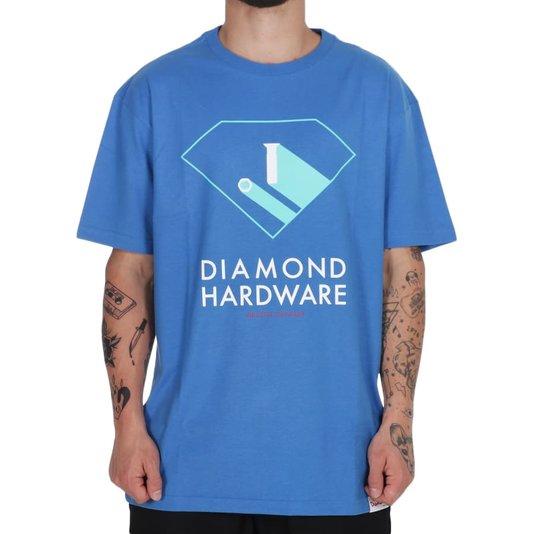 Camiseta Diamond Industry Standard Azul Royal