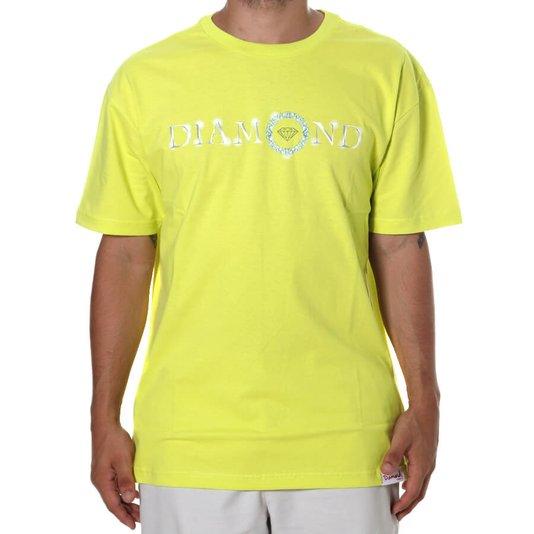 Camiseta Diamond Pendant Tee Amarelo