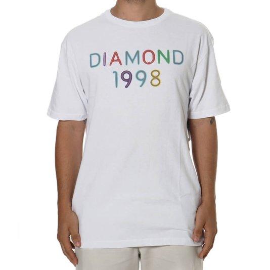 Camiseta Diamond Radiant Neon Branco