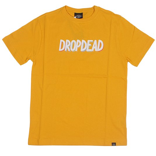 Camiseta Dropdead Colored Infantil Amarelo