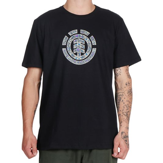 Camiseta Element Mapple Icon Preto
