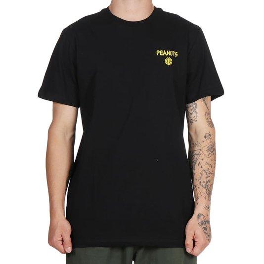 Camiseta Element Peanuts Kruzer Preto