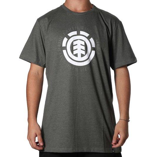 Camiseta Element Seal Logo Verde Militar