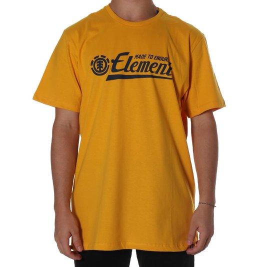 Camiseta Element Signature Amarelo