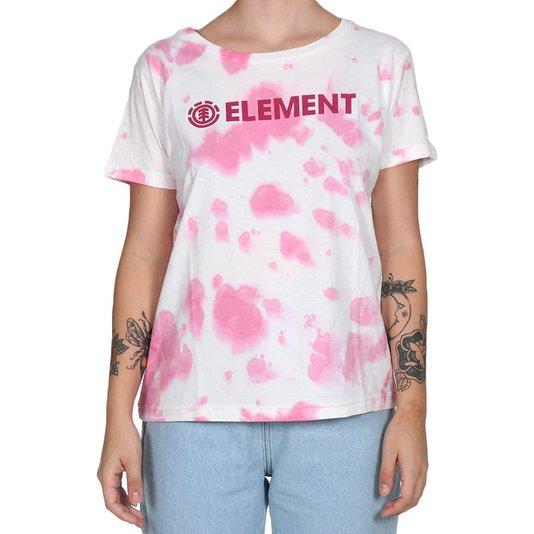 Camiseta Element Tie Dye Blazin Rosa/Branco