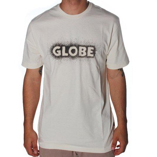 Camiseta Globe Magnetic Creme