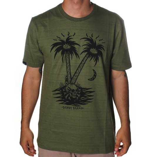 Camiseta Globe Nightfall Verde