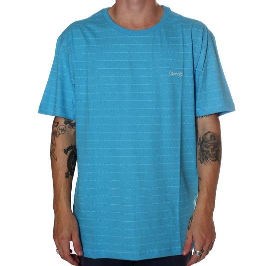 Camiseta Grizzly Cold Crew Azul