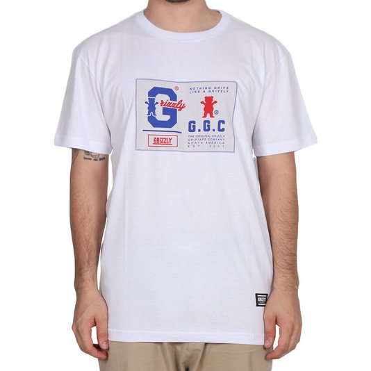 Camiseta Grizzly Nothing Grips Better Branco