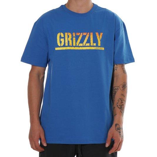 Camiseta Grizzly Og Bear Azul