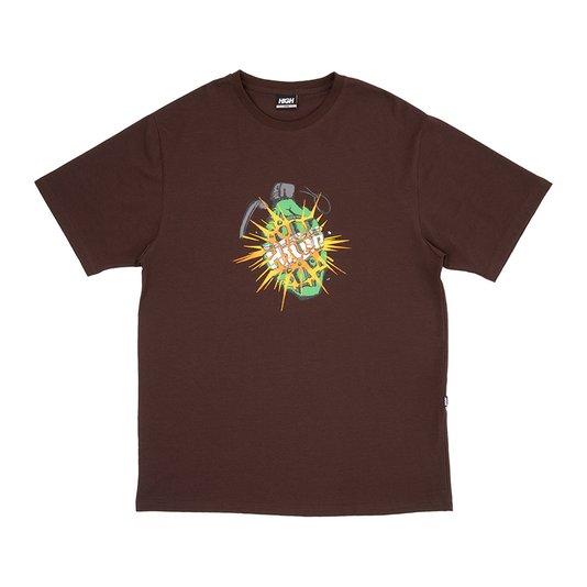 Camiseta High Company Granade Marrom