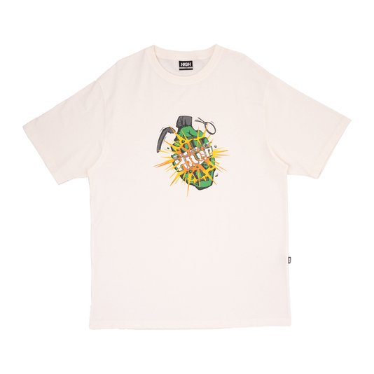 Camiseta High Company Granade Off White