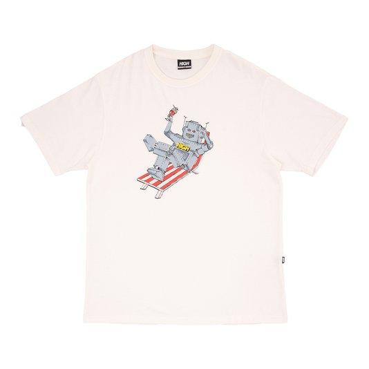 Camiseta High Company Robot Off White