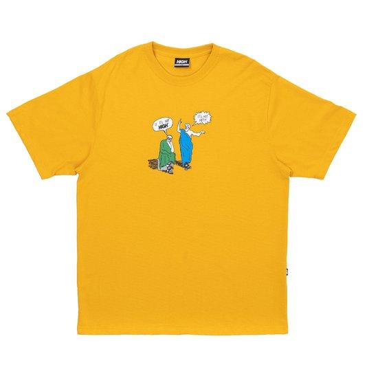 Camiseta High Company Thinker Mostarda