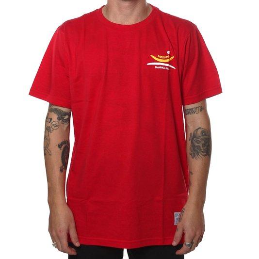 Camiseta Hocks Waze Vermelho