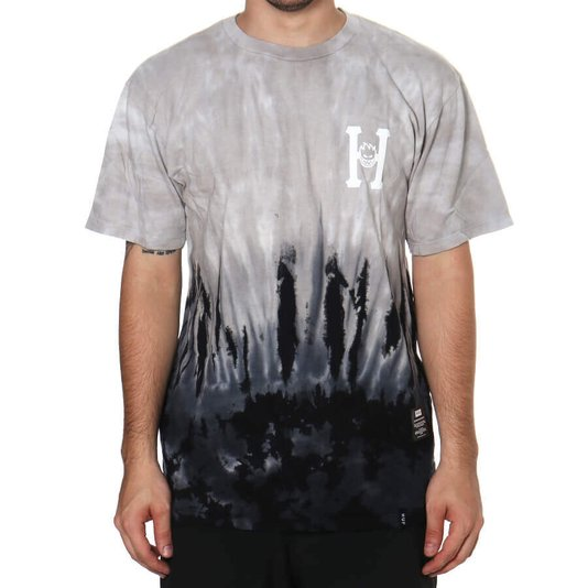 Camiseta Huf Classic  Cinza/Preto