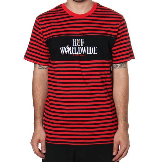 Camiseta Huf Peanuts Party Animal Vermelho/Preto