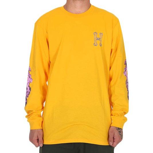Camiseta Huf Screw Head M/L Amarelo