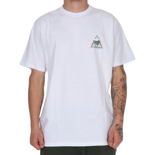 Camiseta Huf Silk Mc Blvd Branco