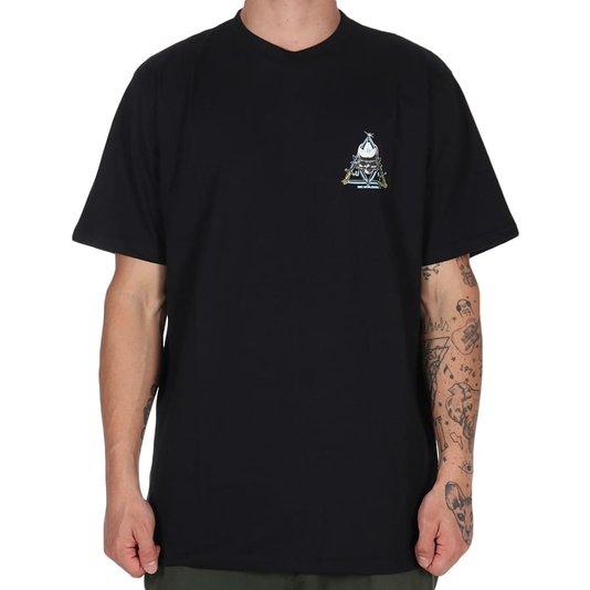Camiseta Huf Silk Mc Blvd Preto