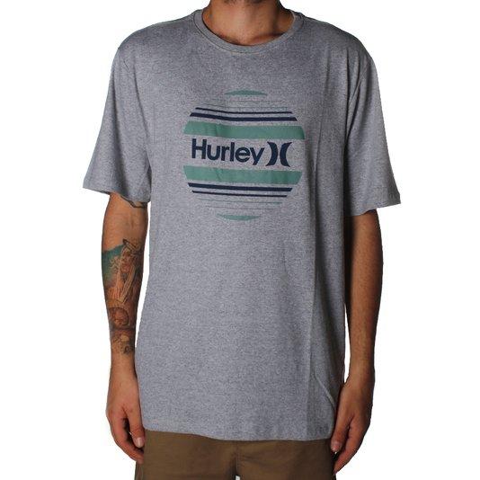Camiseta Hurley Circle Sunset Mescla