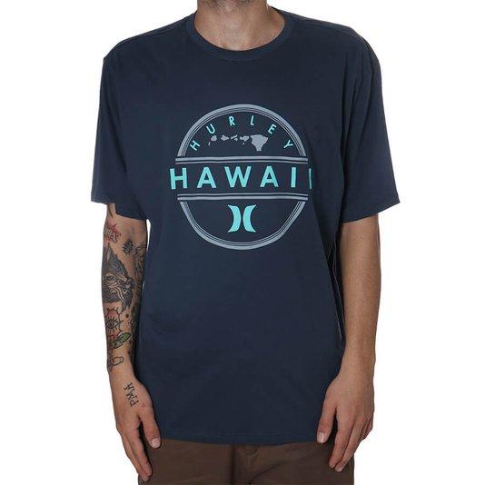 Camiseta Hurley Hawaii Azul Jeans