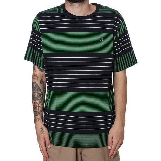 Camiseta Hurley Hype Preto/Verde