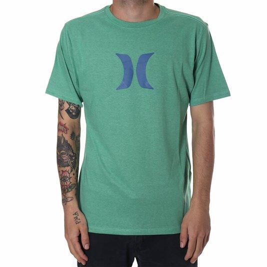 Camiseta Hurley Logo Icon Verde/Azul