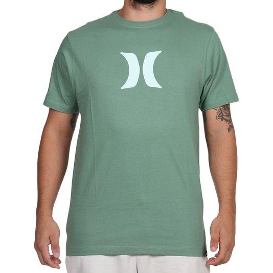 Camiseta Hurley Silk Icon Verde Pistache