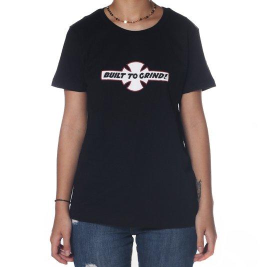 Camiseta Independent BTG Logo Built To Grind Preto