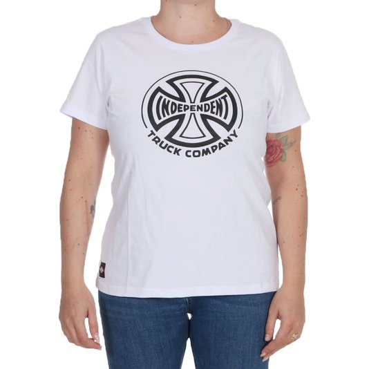 Camiseta Independent Truck Co. 1 Color Feminina Branco