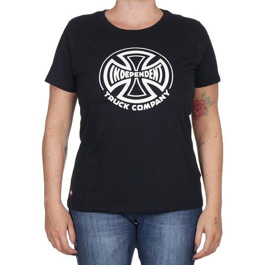 Camiseta Independent Truck Co. 1 Color Feminina Preto