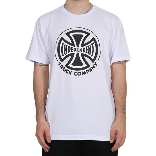 Camiseta Independent Truck Co. 2 Colors Branco