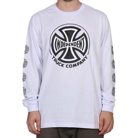Camiseta Independent Truck Co. M/L Branco