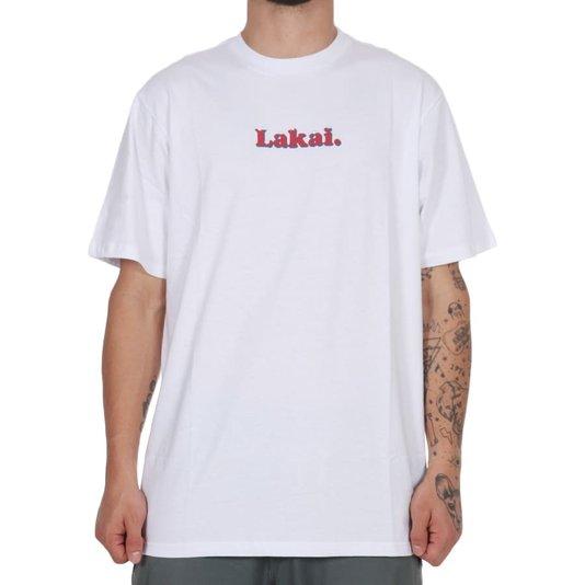 Camiseta Lakai Bizzard Branco