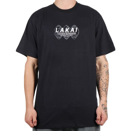 Camiseta Lakai Universal Preto