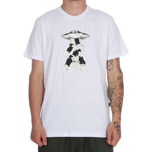 Camiseta Lost Abduction Branco
