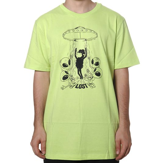 Camiseta Lost Abduction Verde