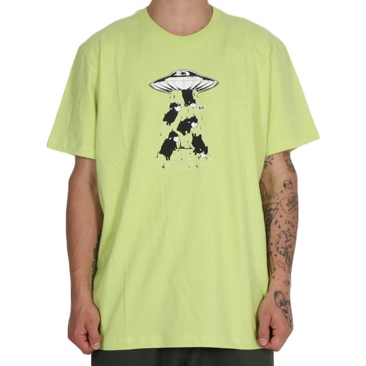 Camiseta Lost Abduction Verde Lima