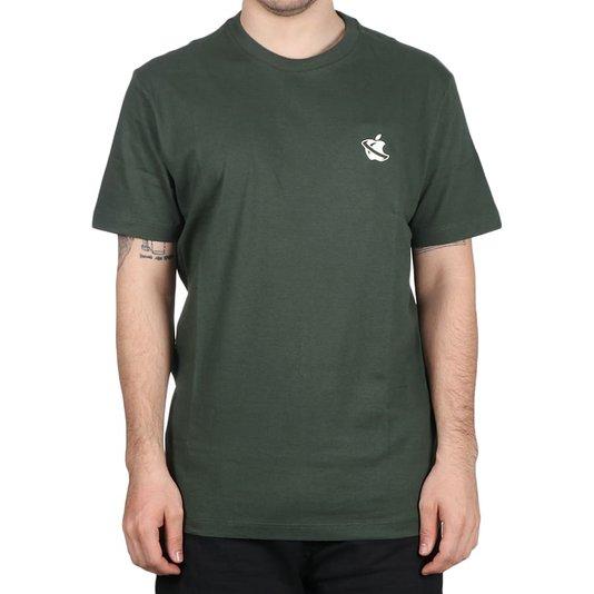 Camiseta Lost Apple Lost Verde Escuro