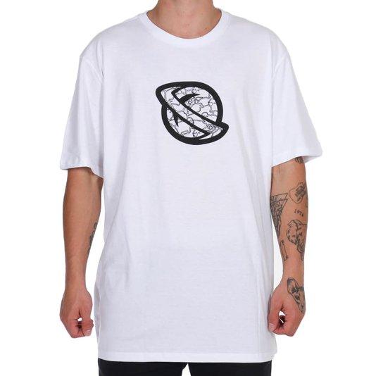 Camiseta Lost Cammo Sheep Oversized Branco