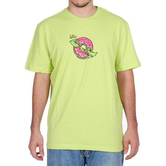 Camiseta Lost Donuts Verde Citrus