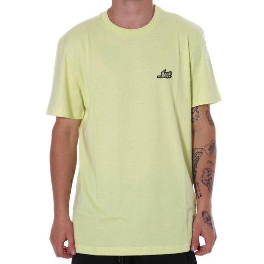 Camiseta Lost Logotypo Verde