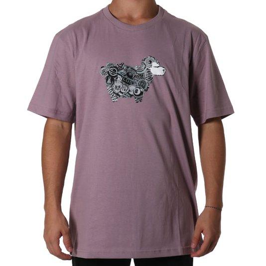 Camiseta Lost Sheep Bottons Lilas